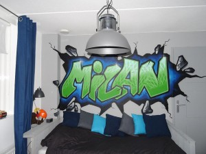 graffiti laten maken