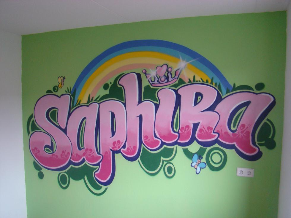 Graffiti Slaapkamer Muur : Graffiti kinderkamer specialist via kinderkamer graffiti