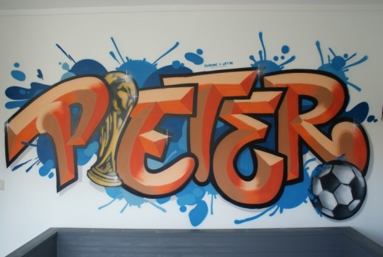 Graffiti Pieter