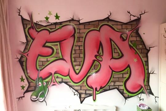 graffiti eva