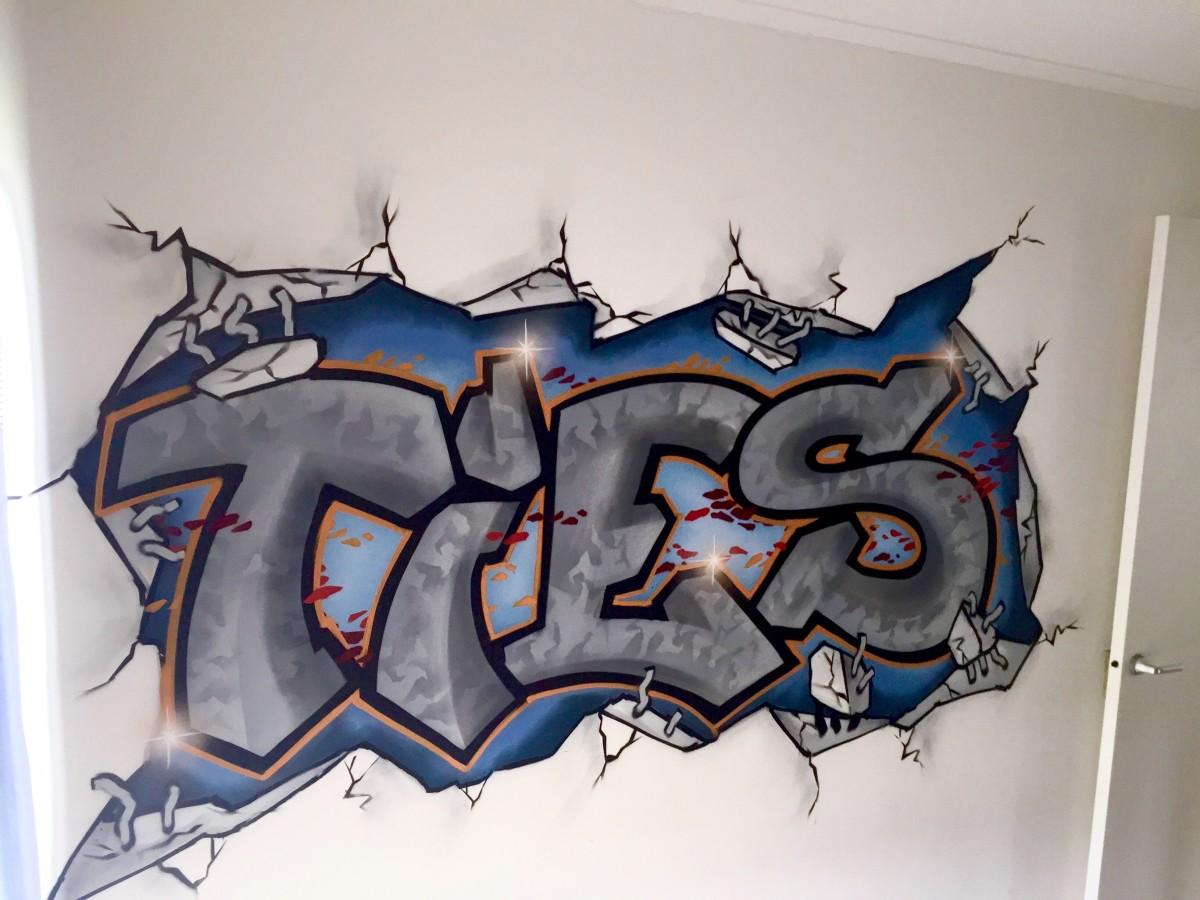 Graffiti In Je Slaapkamer : Graffiti slaapkamer -