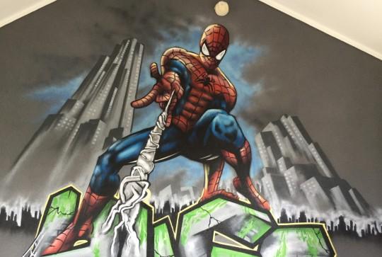graffiti-spiderman