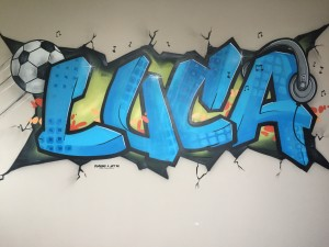 graffiti luca