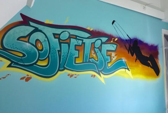 graffiti meidenkamer sofie4