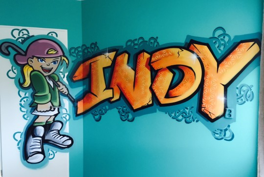 indy graffiti hockey