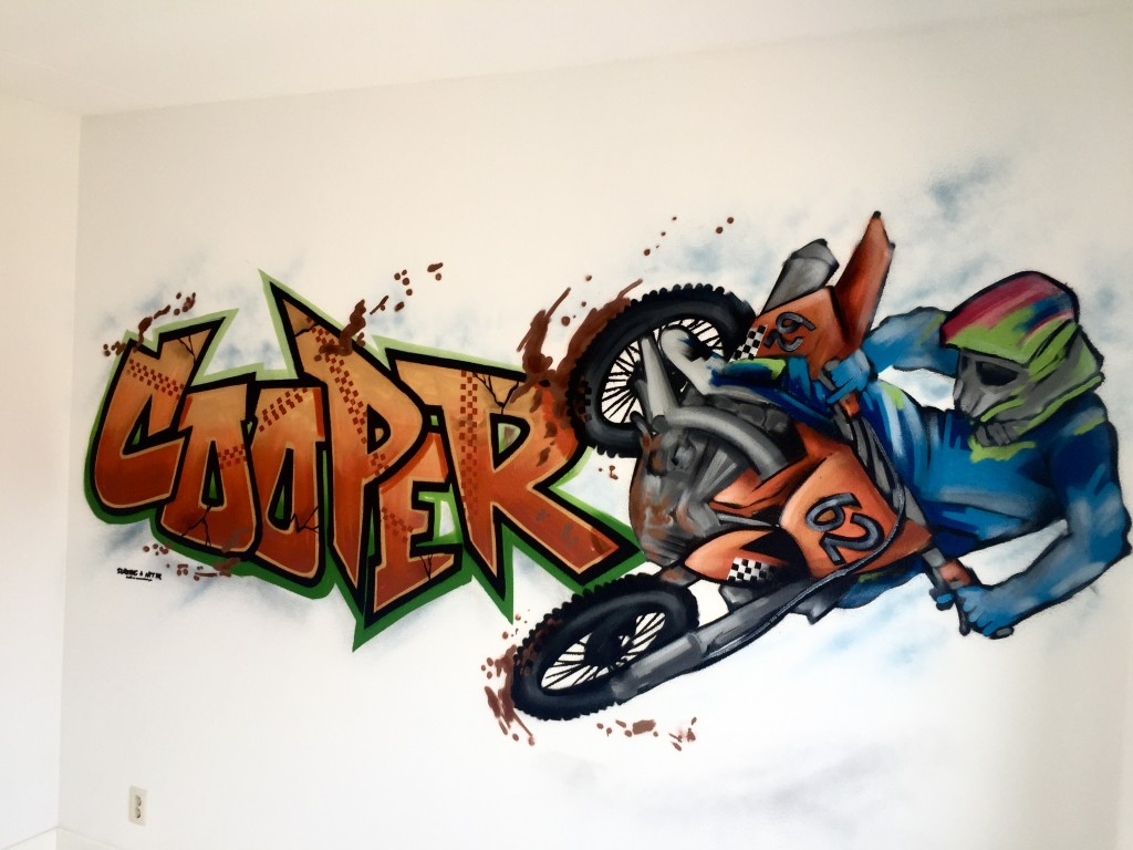 Graffiti kinderkamer specialist via kinderkamer graffiti.nl
