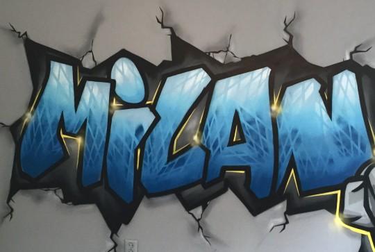 muurschildering milan