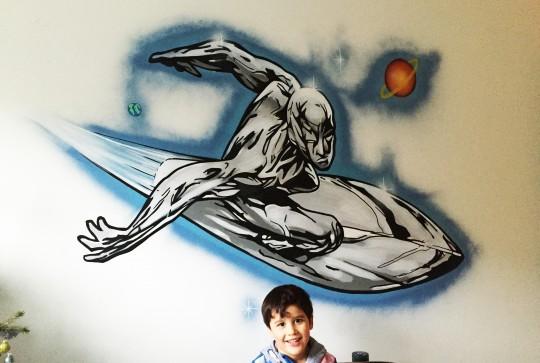 silversurfer graffiti