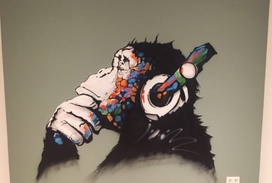 graffiti chimp 1