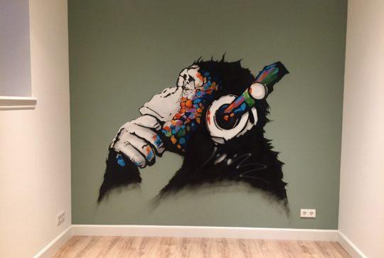 graffiti chimp 2