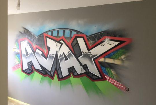 ajax schildering