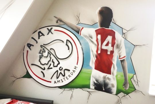 ajax schildering kamer