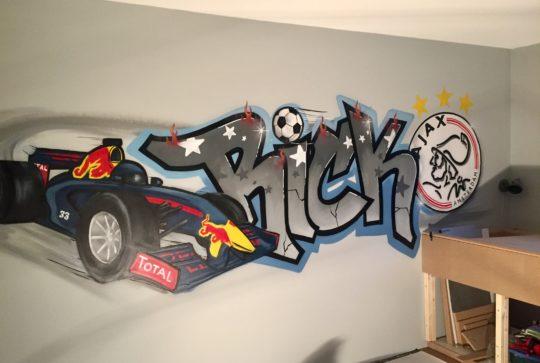 graffiti max verstappen