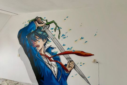 graffiti anime
