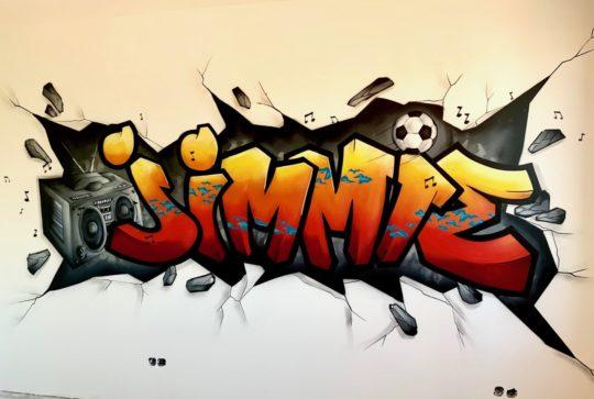 graffiti jimmie