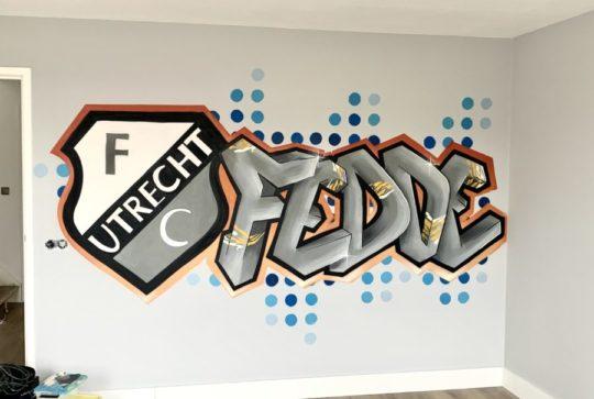 graffiti FC utrecht