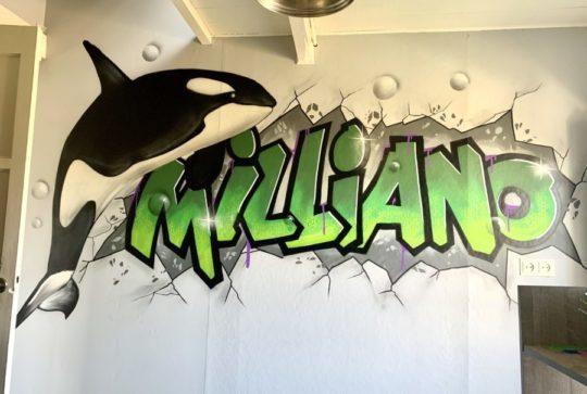 graffiti orca
